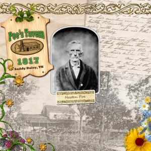 Poe Tavern Scrapbook page-2