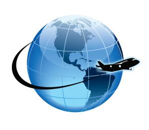 globe-airplane